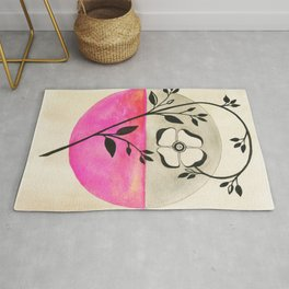 Old Fashioned Rose Rug