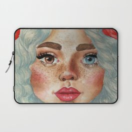 'Girl With Flower Crown' Laptop Sleeve