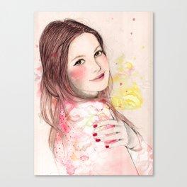 Ludivine Canvas Print