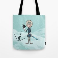 han solo Tote Bags featuring EP5 : Han Solo by Jason Yang