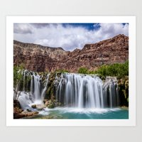 Havasu Waterfall Art Print