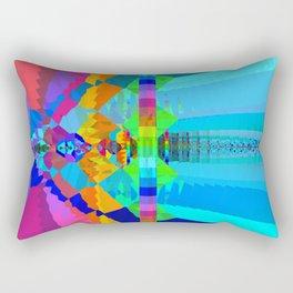 Chromesthesia Two Rectangular Pillow