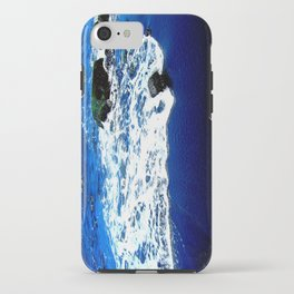 Black Sand Beach iPhone Case