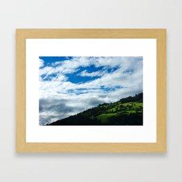 Austria Landscape Framed Art Print