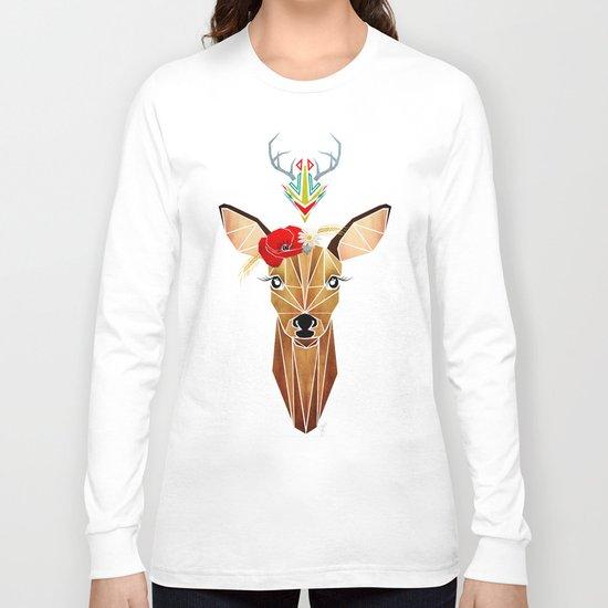 biche oh ma biche ! Long Sleeve T-shirt
