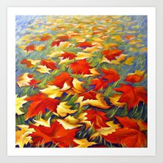 Luxury of Fall Art Print
