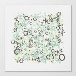 xoxoxo Canvas Print