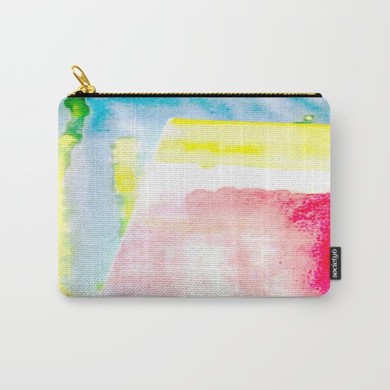 Primary New Year Colors Carry-All Pouch