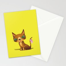 The Great Gold Meow Stationery Cards