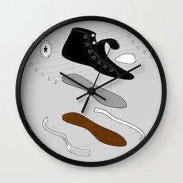Converse deconstruct Wall Clock