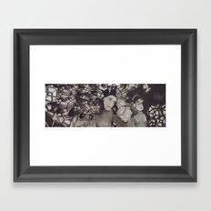 LA FETE TRISTE −1 Framed Art Print