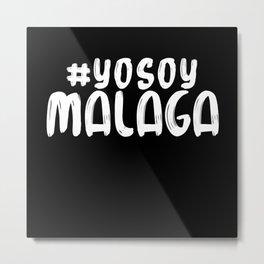 #YOSOY Malaga Pride Metal Print