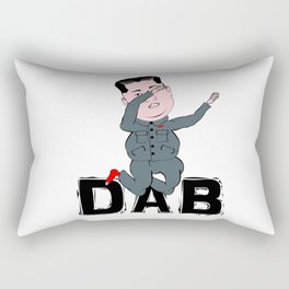 Kim Jong Un Dabbing Rectangular Pillow