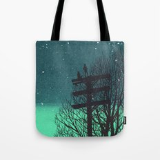 Gone Away Night Tote Bag