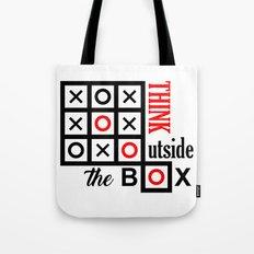 outside the box Tote Bag