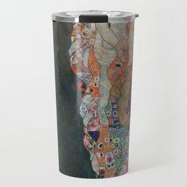 Life and Death - Gustav Klimt Travel Mug