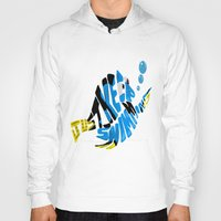 "finding nemo Hoodies featuring ""just keep swimming"" (Finding Nemo- Dory) by Art of Fernie"