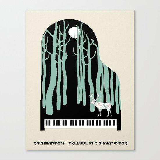 Rachmaninoff -  Prelude in C-Sharp Minor for Piano Canvas Print