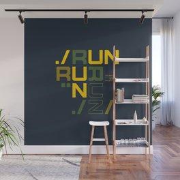 Runners gonna run Wall Mural