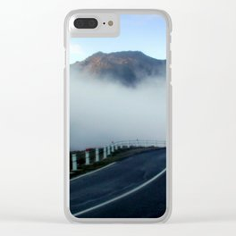 Road to Heaven Clear iPhone Case