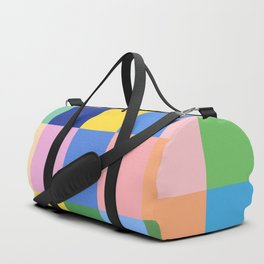 Shades of Spring Green Duffle Bag