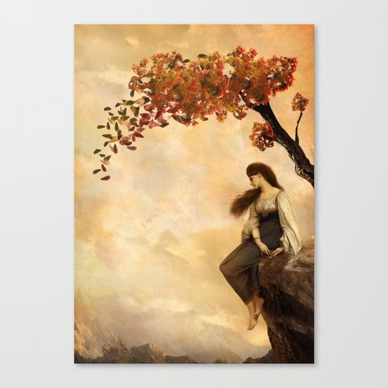 The Fall of Old Ways Canvas Print
