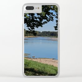 River Road View Clear iPhone Case