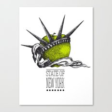 State of New York Canvas Print