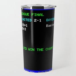 1999 Champions League Final Man United Travel Mug