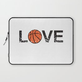 Basketball Love Triko Ball Gift Laptop Sleeve
