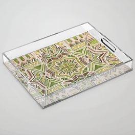 Earth Tapestry Acrylic Tray