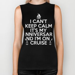 Anniversary Shirt For Cruise Lover. Biker Tank