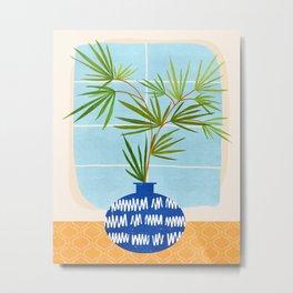 Window Seat / Contemporary House Plant Metal Print
