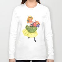 cinderella Long Sleeve T-shirts featuring Cinderella by Celine Billy