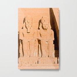 Great Temple of Abu Simbel - Egypt Metal Print