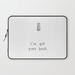 I've Got Your Back Laptop Sleeve