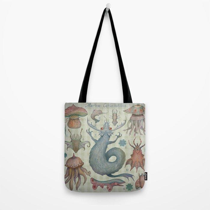 Marine Curiosities II Tote Bag
