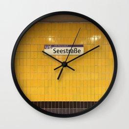 Berlin U-Bahn Memories - Seestraße Wall Clock