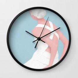Soft Morning I Wall Clock