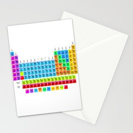 Periodic Table Mendeleev Stationery Cards