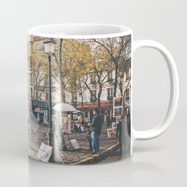 Artists Square in Montmartre, Paris Coffee Mug