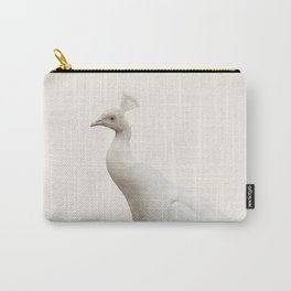 White Peacock | Protection | Awareness | Purity  Carry-All Pouch