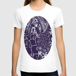 Purple pop Japan  T-shirt