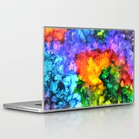karma Laptop & iPad Skins featuring Karma by Claire Day