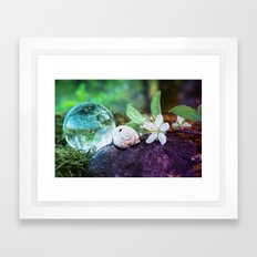 COLLECTION »CRYSTAL BALL« | Forest Beauties Framed Art Print