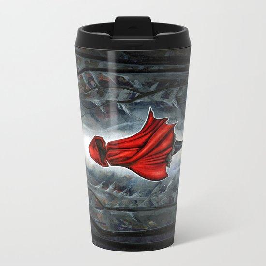 Little Red Riding Hood Metal Travel Mug