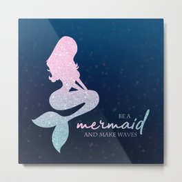 Mermaid #1 Metal Print