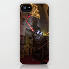"""Welcome To """"The Force Church""""  iPhone Case"""