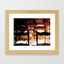 The Empty Church Framed Art Print
