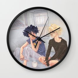 Too afraid to love you Wall Clock